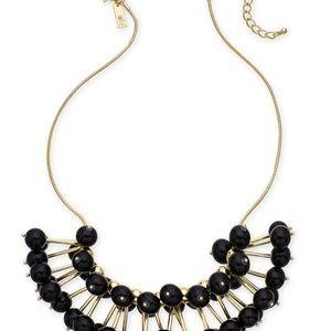 INC Gold-tone stick & ball statement necklace
